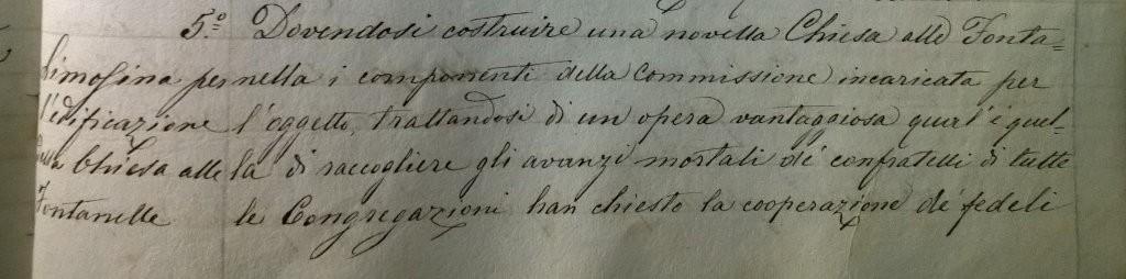 Le Fontanelle all'Archivio Purgatorio ad Arco